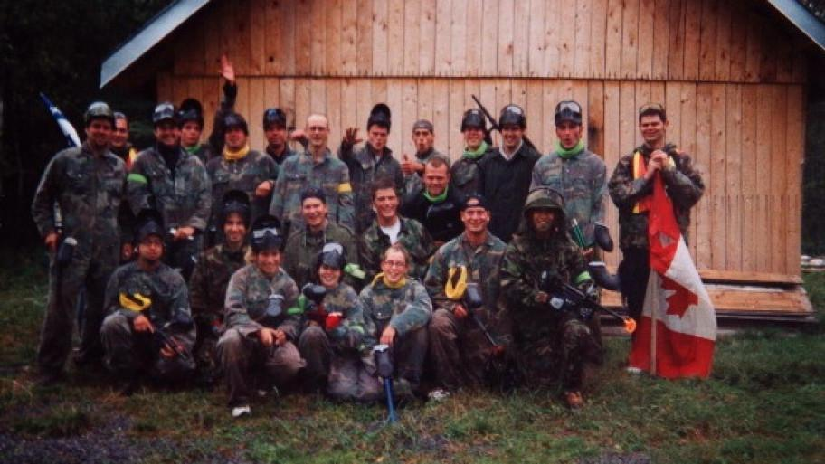 Jeux d'aventure Paintball