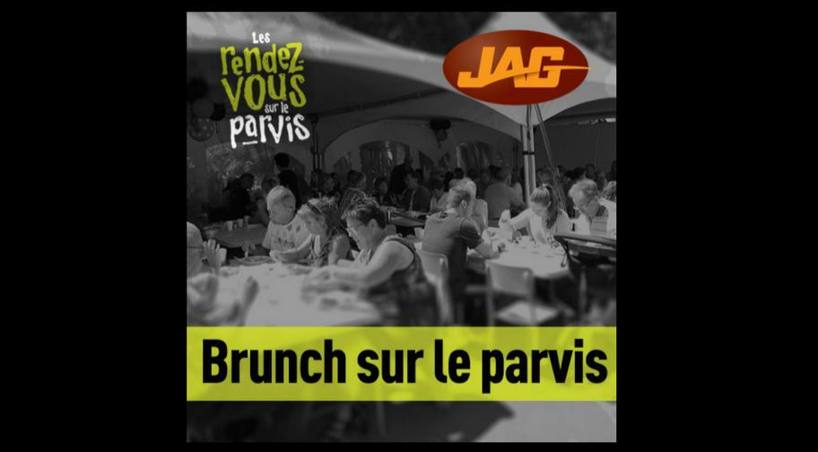 Brunch sur le parvis
